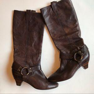 Steffi Harness Frey Boots